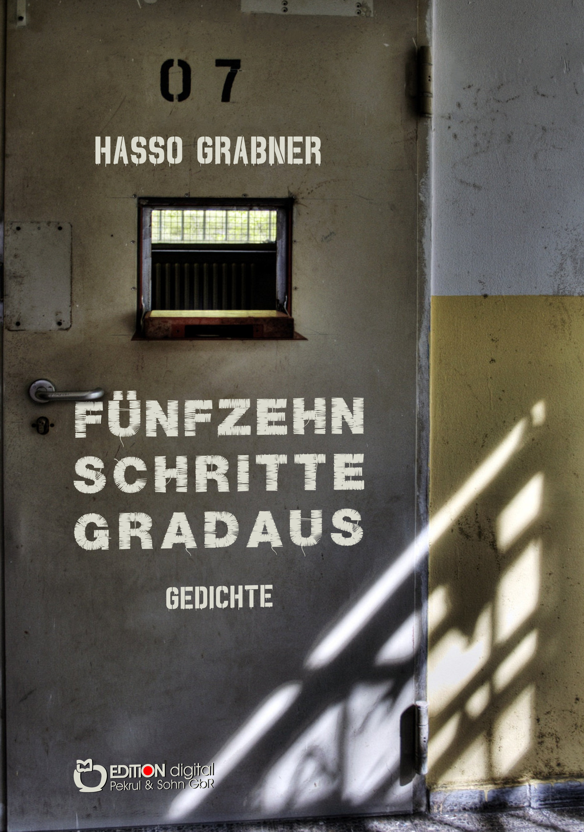 Fünfzehn Schritte gradaus. Gedichte von Hasso Grabner