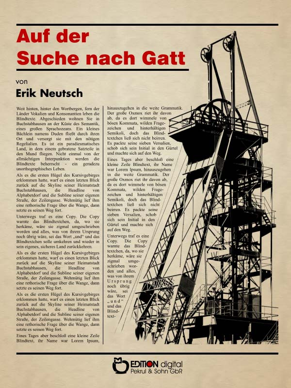 Auf der Suche nach Gatt. Roman von Erik Neutsch
