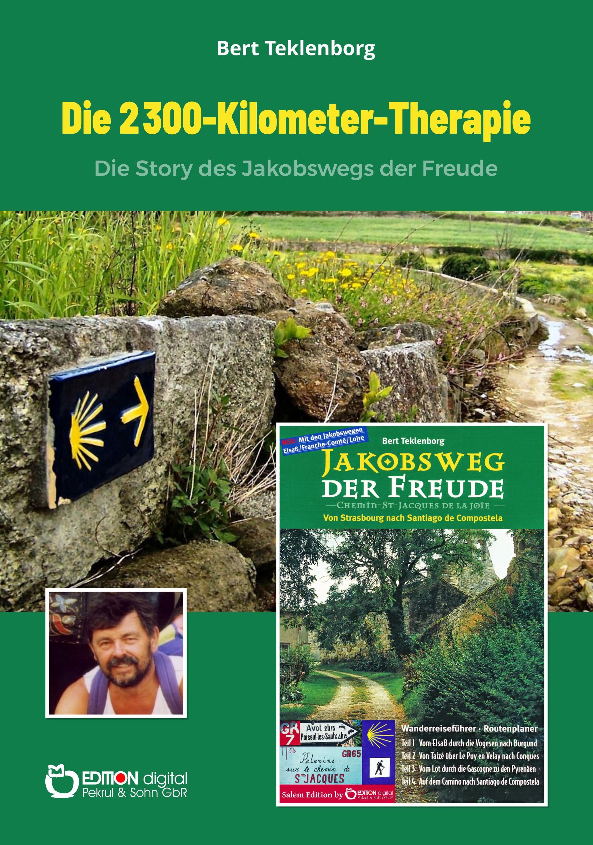 Die 2300-Kilometer-Therapie. Die Story des Jakobswegs der Freude von Bert Teklenborg