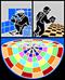 Fliesen-, Platten- und Mosaikleger: Handwerkswappen der Fliesen-, Platten- und Mosaikleger von 2010