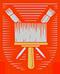 Maler und Lackierer: Handwerkswappen der Maler von 1955