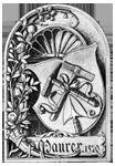 Maurer: Zunftwappen der Maurer in Nürnberg von 1520