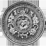 Steinmetz und Steinbildhauer: Siegel der bürgerlichen Steinmetze und Maurer der Haupthütte zu St. Stefan in Wien von 1651