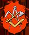 Zimmerer: Zunftwappen der Hauszimmerleute in Danzig von 1552