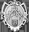 Zimmerer: Zunftwappen der Zimmerer in Gent von 1645