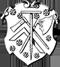 Zimmerer: Zunftwappen der Zimmerer in Karlstadt
