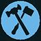 Klempner und Installateur: Reichsinnungszeichen der Installateure und Klempner von 1935