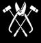 Klempner und Installateur: Handwerkswappen der Klempner von 1935