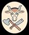 Fleischer: Handwerkswappen der Fleischer um 1940