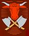 Fleischer: Handwerkswappen der Fleischer von 1955