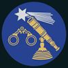 Feinoptiker, Uhrmacher: Reichsinnungszeichen des Optiker- und Feinmechanikerhandwerks von 1935