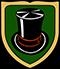 Modist: Handwerkswappen der Hutmacher um 1900