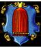 Polster- und Dekorationsnäher: Zunftwappen der Zopfmacher in Nürnberg